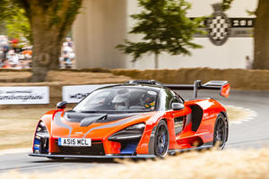 Bruno Senna Driving Us In A McLaren Senna Was The Best Way To Discover The Goodwood Hill Climb