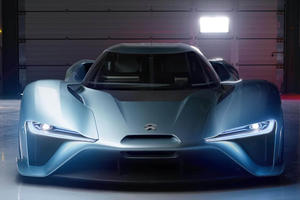 Nio EP9 Is The Fastest Road Car To Ever Take On The Goodwood Hillclimb