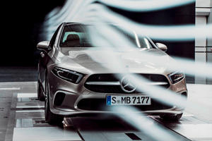 Mercedes A-Class Sedan Is The Most Aerodynamic Production Car In The World