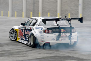 Riding In Mad Mike's 800hp 'BadBul' Drift Mazda RX-8 Was Incredible