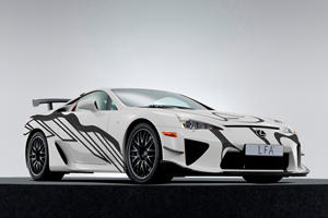 Lexus LFA Art Car Celebrates 10 Years Of Lexus F Performance Cars