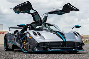 The Last Ever Pagani Huayra Coupe Is Inspired By Lewis Hamilton