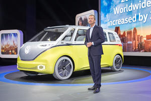 Volkswagen Boss Thinks Traditional Auto Shows Are Dead