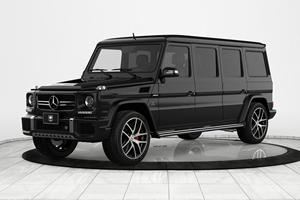 Mercedes-AMG G63 Transformed Into Menacing Armored Limo
