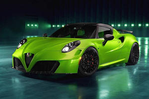 This Eye-Catching Alfa Romeo 4C Is Inspired By The Aston Martin Vantage