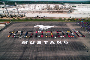 Ford Holds Massive Celebration For The 10 Millionth Mustang