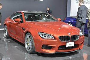2013 BMW M6 Convertible Makes World Premiere in New York