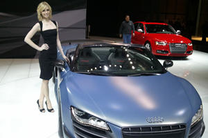 The Girls of the 2012 New York Auto Show