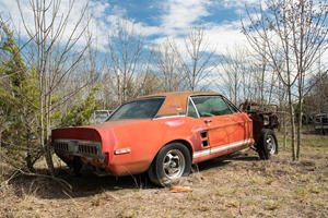Rare Shelby GT500 Experimental Prototype Found Rotting In Texas Field