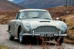Aston Martin's Making 28 New DB5s (Complete With Working Bond Gadgets)