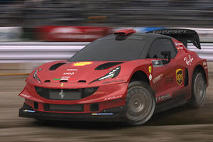 Ferrari Rally Car May Not Be As Mad As You Think
