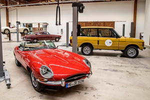 Jaguar Land Rover Opens First Classic Center In America