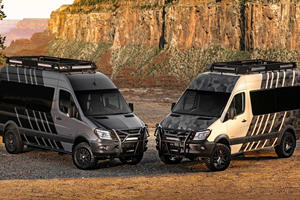 Mercedes-Benz Sprinter Goes Where No Van Has Gone Before