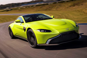 2019 Aston Martin Vantage Seized After Driver Clocked 100 MPH In A School Zone
