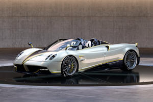 One-Off Pagani Huayra Roadster Inspired By One Of The Fastest Birds In The World