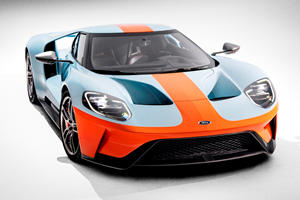 2019 Ford GT Heritage Edition Features Legendary Racing Livery
