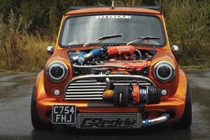 Classic Mini With 360-HP Is One Scary Pocket Rocket