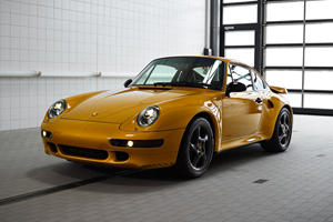 Porsche 911 Project Gold Isn't Street Legal In Most Countries