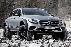 Mercedes-Benz E-Class All-Terrain 4x4² Seen In Action