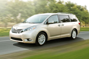 Self-Driving Toyota Sienna Minivan To Hit The Streets In 2021
