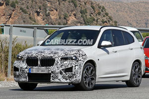 Here's A First Look Inside The BMW X1 Facelift