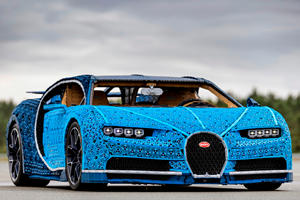 Lego Builds Insane Life-Sized Bugatti Chiron You Can Actually Drive