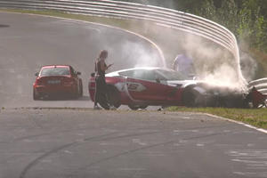 Watch And Weep As This Chevy Corvette Z06 Crashes At The Nurburgring