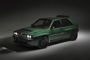 Lancia Delta Integrale Reborn In Stunning Restomod