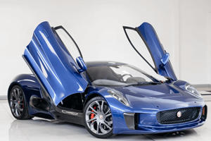 You Can Own A Jaguar C-X75 Stunt Car From Spectre