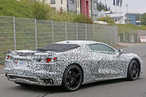 Mid-Engine Corvette To Ditch Chevy's Small-Block V8?