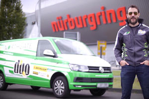 A VW Transporter Just Broke The Ten-Minute Barrier At The Nurburgring