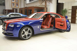 Rolls-Royce Wraith Splits Opinion With Two-Tone Paintwork