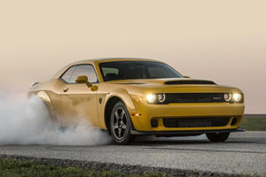 Witness The Mind-Blowing Acceleration Of Hennessey's 1,200-HP Dodge Demon