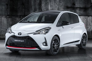 Toyota Yaris GR Sport Warms Up In The City Of Lights
