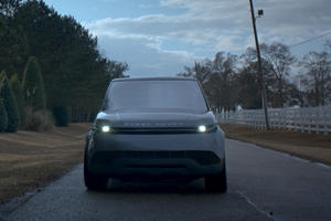 """Land Rover Creates Futuristic Range Rover Sport For Hulu Science-Fiction Series """"The First"""""""