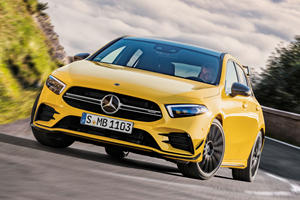 Say Hello To The 300-HP Mercedes-AMG A35 Hot Hatch