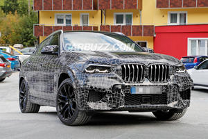 Here's A First Look At The Brutal 600-HP BMW X6 M