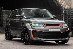 Range Rover Sport SVR Receives Radical Makeover