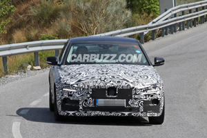 Facelifted Jaguar XE Spied: Is Something New Under The Hood?