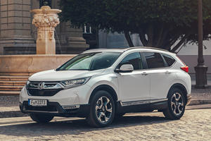 Honda CR-V Hybrid Breaks Cover Ahead Of Paris Debut