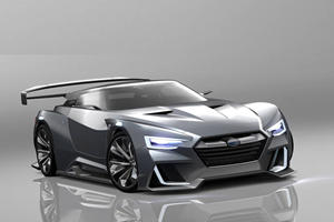 Is Subaru Really Working On A Mid-Engine Hybrid Sports Car?