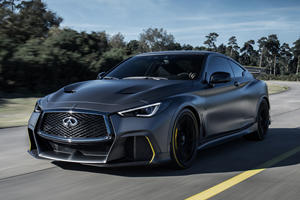 Infiniti Project Black S Prototype Is Back With World First Dual-Hybrid Powertrain
