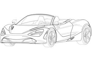 Is This Our First Look At The McLaren 720S Spider?