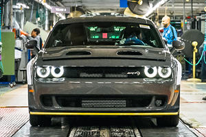Dodge Challenger Redeye Starts Rumbling Off The Assembly Line