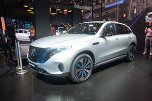 2020 Mercedes-Benz EQC Arrives In Paris Before EV SUV Wars Erupt