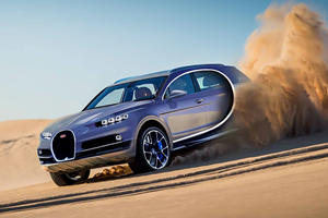 Bugatti Could Build A Luxury Hybrid SUV To Battle The Bentley Bentayga