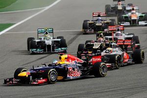 Vettel Wins 2012 Bahrain Grand Prix