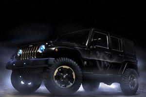 The Jeep Wrangler Dragon Concept Hatches in Beijing