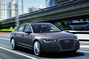 Audi A6 L e-tron Heads Trio of New Concepts Unveiled in Beijing