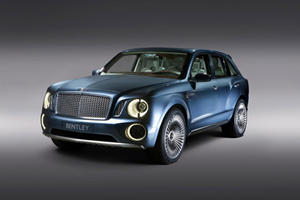 Bentley Barges into Beijing with EXP 9 F SUV Powertrain Details
